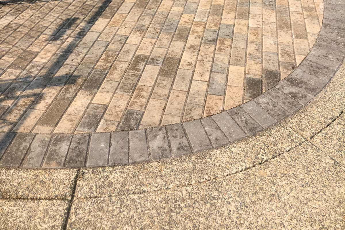 Holland Herringbone Pavers