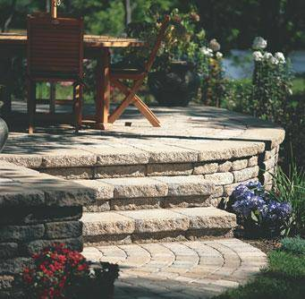 Raised patios can boost family togetherness and add to your home's beauty.