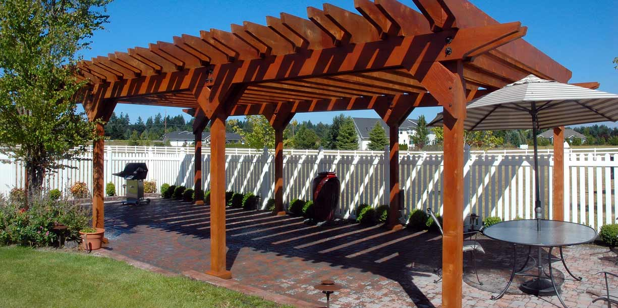 Pergola Project, Olympia, Washington landscape project