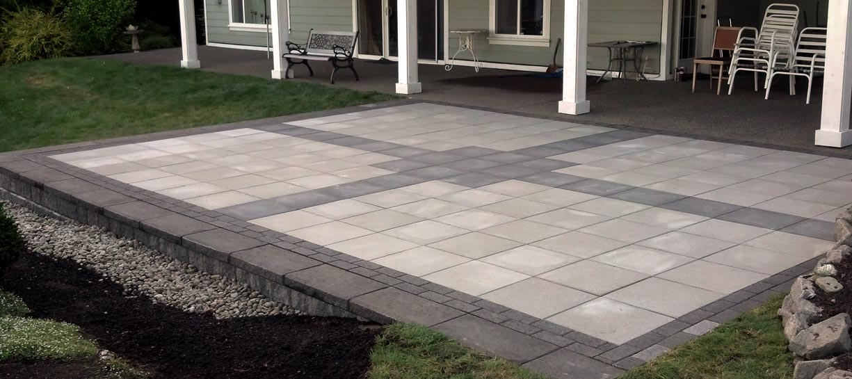 Architectural Slab Patio