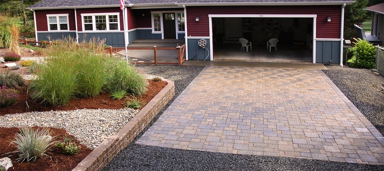 Terra Villa Paver driveway